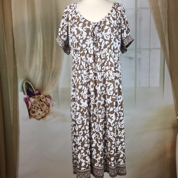 Just My Size Dresses Jms Floral Print Short Sleeved Dress Poshmark